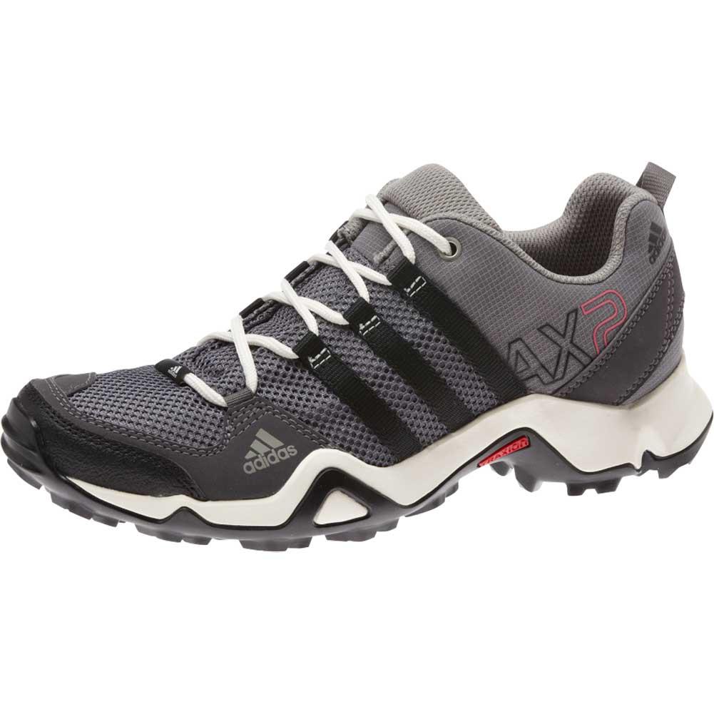 adidas frauen ax 2 w - schuh, scharfe grau / schwarz / bahia rosa m22936