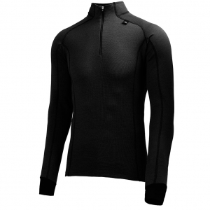 "Helly Hansen Men's ""HH Warm Freeze 1/2 Zip"", 990 Black"