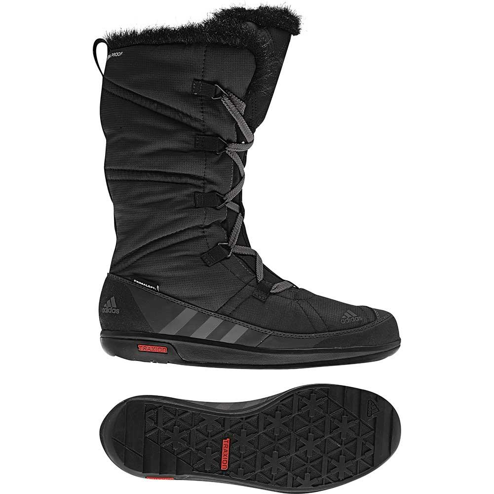 5330676f51f57 Adidas Women's CHOLEAH LACEUP CP PRIMALOFT Boot, Black/Sharp Grey ...