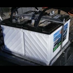 Rob's Extreme Pro Battery Tray - Double