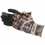 "Glacier Glove ""Pro Waterfowler"" (Hunting) Curved Finger Fleece Lined, Advantage Max 4"