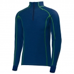 "Helly Hansen Men's ""HH Warm Freeze 1/2 Zip"", 689 Evening Blue"