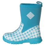 Muck_Boots_Kids_Breezy_Mid_Boot_Blue_Gingham  (bmk-2ghm)