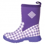 Muck_Boots_Kids_Breezy_Mid_Boot_Purple_Gingham  (bmk-5ghm)