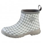 Muck_Boots_Womens_Breezy_Cool_Ankle_Boot_Grey_Gingham  (bza-1ghm)