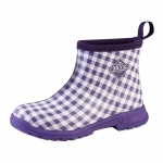 Muck_Boots_Womens_Breezy_Cool_Ankle_Boot_Purple_Gingham  (bza-5ghm)