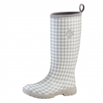 Muck_Boots_Womens_Breezy_Tall_Boot_Grey_Gingham  (bzt-1ghm)