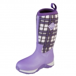 Muck_Boots_Kids_Arctic_Adventure_Boot_Purple_Plaid  (kaa-5pld)