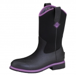 Muck_Boots_Womens_Ryder_Mid_Boot_Black_Purple  (rydm-005)