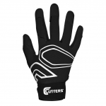 Cutters Men's Black/Black LEAD-OFF Baseball Glove