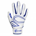 Cutters Men's White/Royal LEAD-OFF Baseball Glove