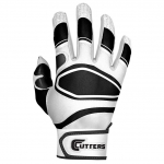 Cutters Men's White/Black POWER CONTROL Baseball Glove