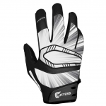 Cutters Men's Black REV PRO Receiver Glove