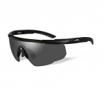 Wiley X SABER ADVANCED Sunglasses, Smoke Grey Lens / Matte Black Frame