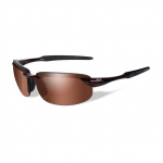 Wiley X WX TOBI Sunglasses, Bronze Lens / Brown Crystal Frame