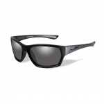 Wiley X WX MOXY Sunglasses, Black Ops, Smoke Grey Lens / Matte Black Frame